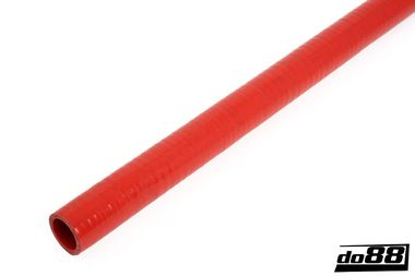 Durite silicone Rouge Flexible Lisse 1,375'' (35mm)